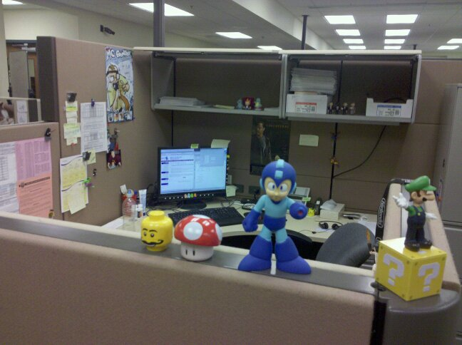 Office Toys For Geeks : Cubicle toys geek wow